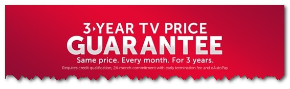 DISH 3 year price guarantee