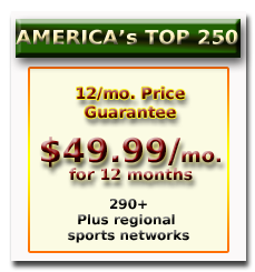 Dish Top 250 12mo price guarantee