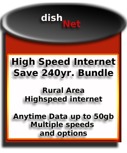 dishnet rural area internet service