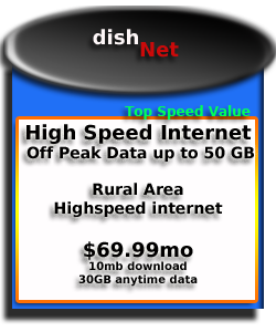 DishNet                                 Internet Service
